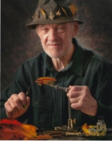 Ellis R. Hatch Jr. ... renowned fly tyer, conservationist