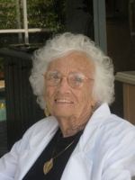 Pauline (Swenson) Swain ... renowned quilter; at 101