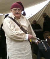 Gray C. Morgan ... enjoyed Colonial re-enactments