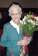 Muriel Drew ... danced on restaurant's counter to celebrate her 100th; at 108