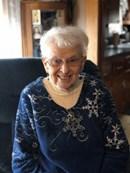 Marie Vachon ... former fancy stitcher at Encore Shoe