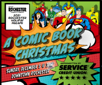 This year's Christmas Parade will feature 'Comic Book' theme