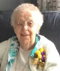 Madeline Susie Raab ... enjoyed sewing; at 96
