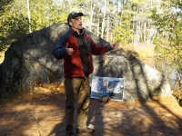 Forest walk reveals where all those big boulders came from