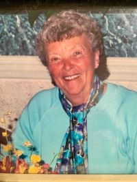 Delores E. Beers ... avid UNH hockey fan; at 92