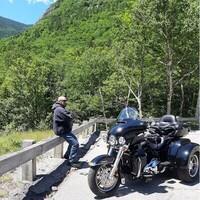 Ronald Lepene  ... enjoyed riding his Harley, camping