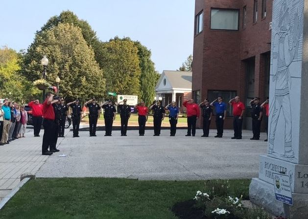 In Rochester, a moment to remember, reflect on 9/11 sacrifice