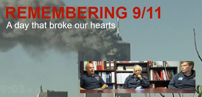 'We still go running into buildings to save people just like they did on 9/11'