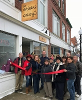 City welcomes The Artisans Gallery with ribbon cutting