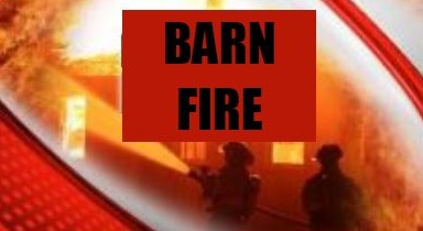 Barn said a total loss in fast-moving Lowell Street blaze