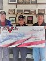 Club Victoire donates $1,500 to Americanism Program