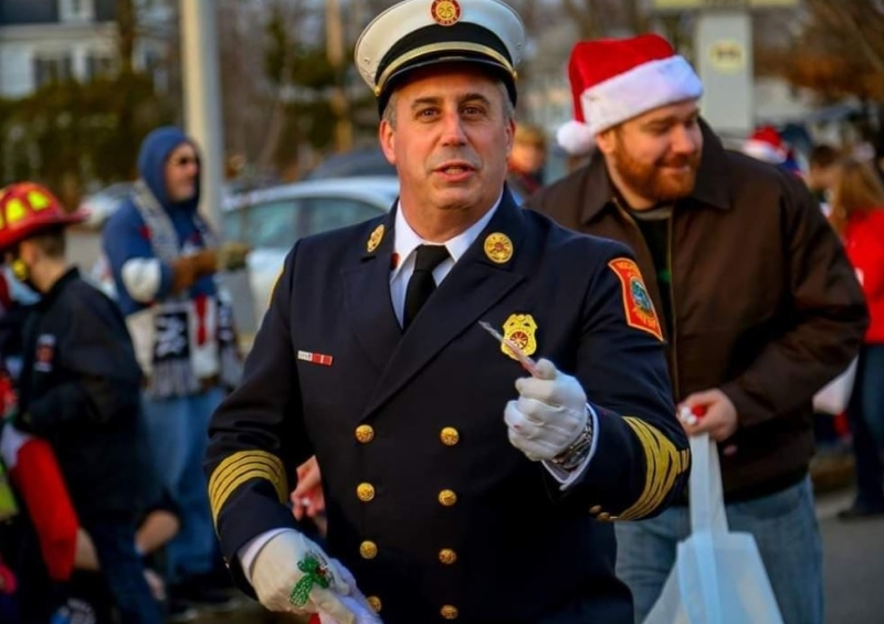 Christmas comes early for longtime city firefighter hired as Wells' new fire chief