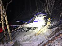 Speed blamed in Maine snowmobile crash that killed Mass. man
