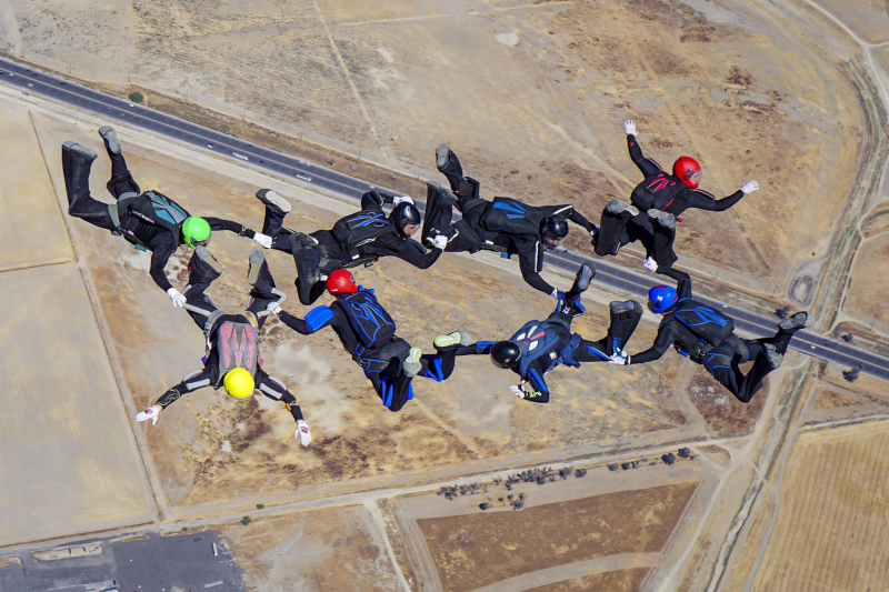 Skydive New England regular takes home gold at national championships