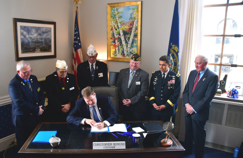 Sununu establishes single entity to streamline veterans' services