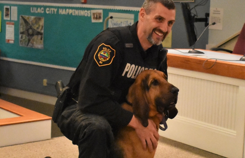 SCSO, RPD renew bloodhound tradition with a real 'Gunner' now on board