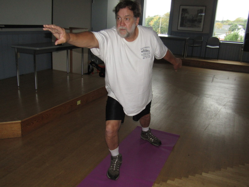 Vietnam combat vet finds reaching out at yoga class a good fit for him