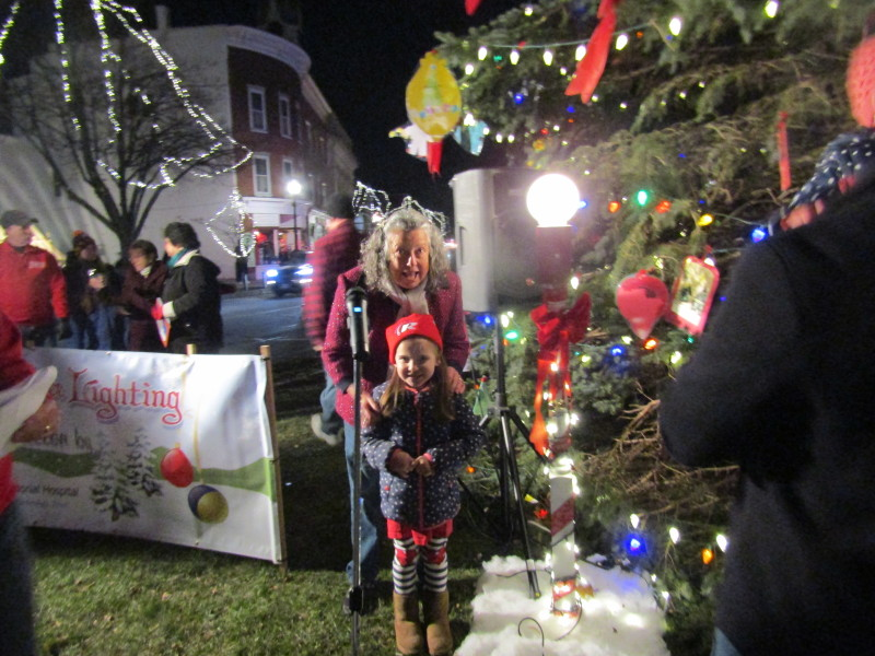 Yuletide cheer was in the air at Rochester's festive tree lighting