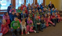 Check for playground donation puts KSB at record $1M donation level for 2019