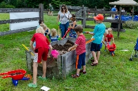 Kids had plenty to dig into at annual MMRG nature fest