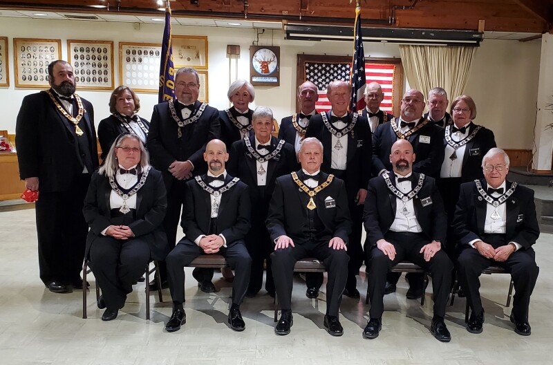Rochester's Elks Lodge installs new officers, announces awards night winners