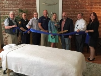 Chamber holds ribbon cutting for Massage Essentials of NE