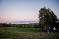 Moonlight walk shows off Leary Field conservation effort
