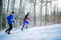 MMRG snowshoe race draws some 40 competitors