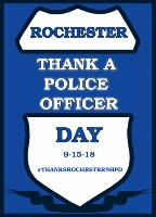 Citywide 'Thank you day' for Rochester police planned for Sept. 15
