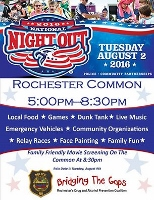 Games, food, fun and a movie all at National Night Out