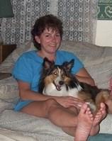 Taralie Ann Castine ... enjoyed camping; at 64