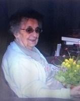 Margaret Davis ... enjoyed knitting mittens for needy