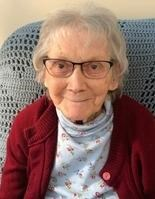Mary Semitros ... retired from UNH alumni office; at 93