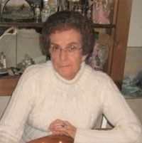 Mary Jeanette (Ward) Jacobs ... enjoyed camping; at 87