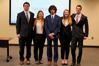 Accounting team takes 8th spot in national competition