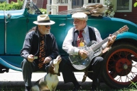 Noted area blues duo take stage for Friday concert