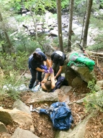 Rhode Island hiker rescued after 40-foot fall on AT
