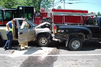 Three hurt, two seriously, in Friday DWI crash in Gonic
