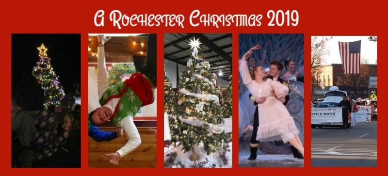Rochester's flurry of Christmas cheer begins tonight, hopefully with a flurry!