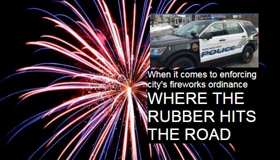 Fireworks complaints keep police hopping on the Fourth
