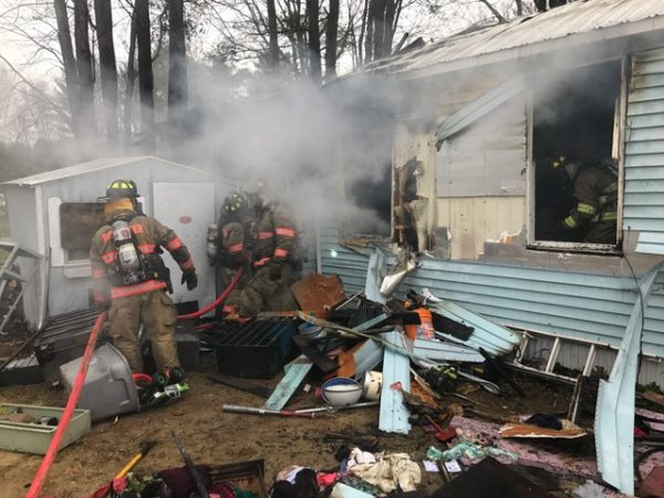 Rochester mobile home blaze leaves family of five homeless