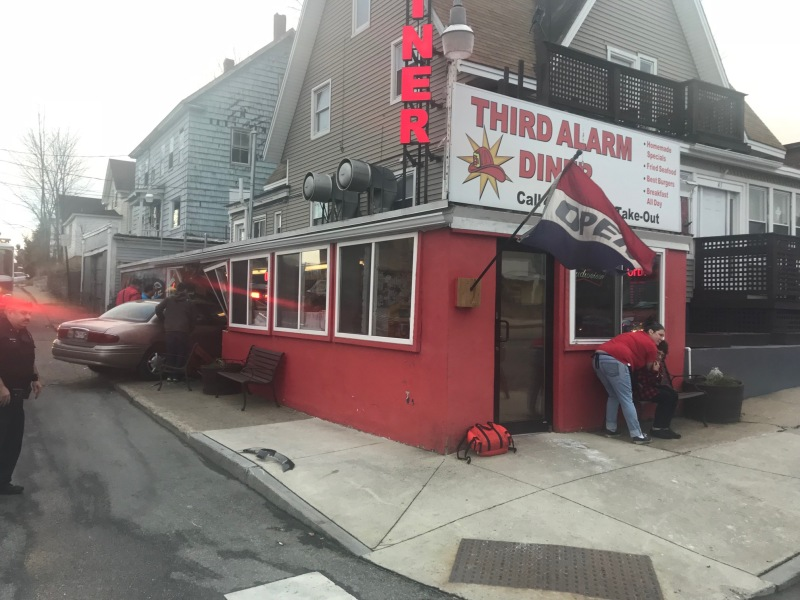 Car crashes into iconic Sanford diner, injuring patrons