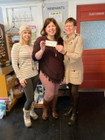 Downtown sew shop donates 'Remnants' proceeds to Hope on Haven Hill
