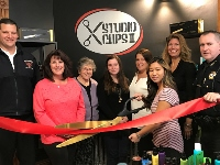 Studio Clips II holds Rochester ribbon cutting