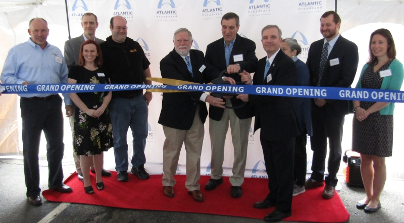 Atlantic Broadband makes transition complete at festive ribbon cutting