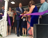 Ribbon cutting held at Abi's Place, which will house women suffering from addiction and their kids