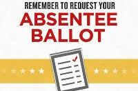 Absentee ballots now available for May 9 voting