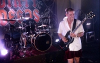 AC/DC tribute band known for its electric performances