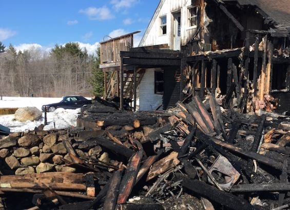 Acton fire that destroyed barn, home blamed on kids playing with matches