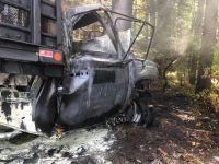 Two Maine men die in fiery Arundel truck crash